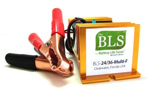 24 volt battery desulfator, desulfate 24 volt forklift batteries, desulfate 36 volt forklift batteries